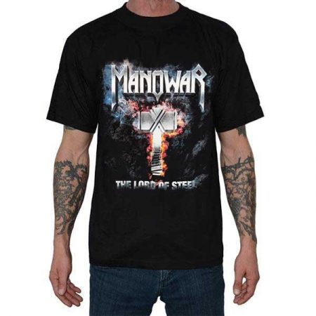 Tricou Manowar - The Lord of Steel 145 grame0