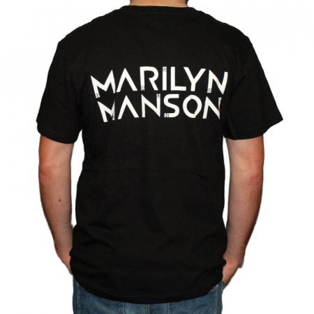Tricou Marilyn Manson - Skulls - 180 grame1