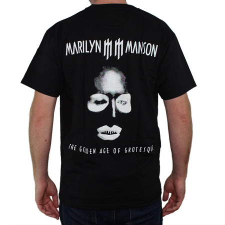 Tricou Marilyn Manson - The Golden Age Of Grotesque - Fruit Of The Loom [1]