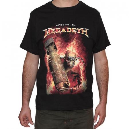 Tricou Megadeth - Arsenal - 180 grame0
