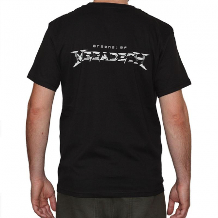 Tricou Megadeth - Arsenal - 180 grame1