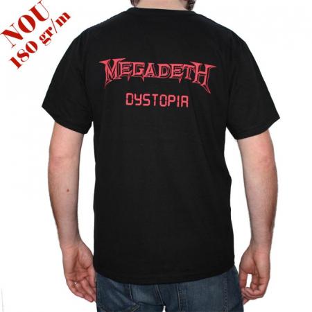 Tricou Megadeth - Dystopia - 180 grame1