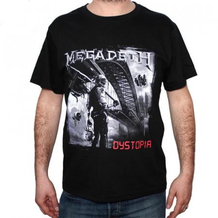 Tricou Megadeth - Dystopia - 180 grame0