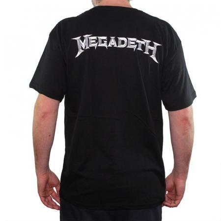 Tricou Megadeth - Electric Rattlehead - 145 grame1
