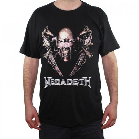 Tricou Megadeth - Electric Rattlehead - 180 grame - Marime XXXL0