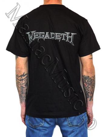 Tricou Megadeth - Electric Rattlehead 180 grame [1]