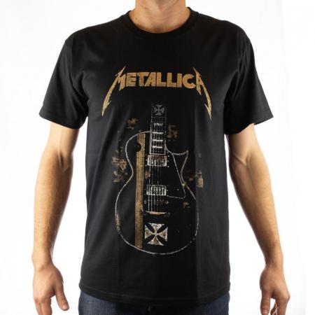 Tricou Metallica - Chitara electrica - 180 grame0