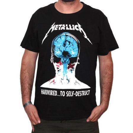 Tricou Metallica - Hardwired... - 180 grame0