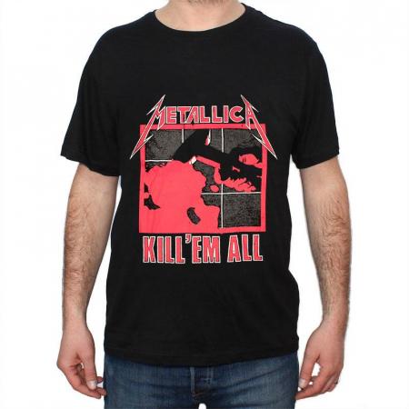 Tricou Metallica - Kill Em All - 180 grame0