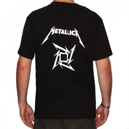 Tricou Metallica - LOGO - 180 grame [1]