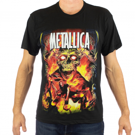Tricou Metallica - Master of Puppets 145 grame2
