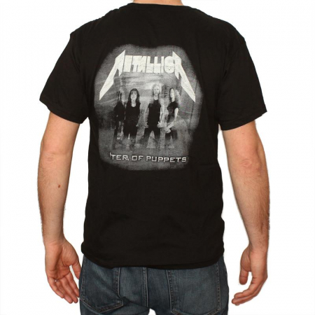 Tricou Metallica - Master of Puppets 145 grame1