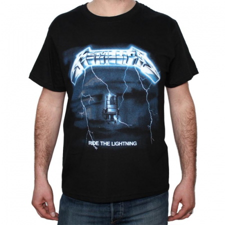 Tricou Metallica Ride The Lightning - 180 grame0