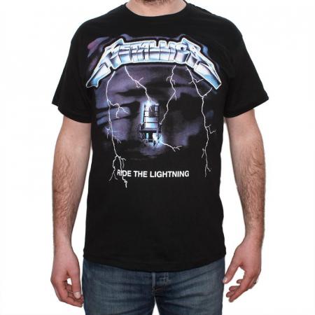 Tricou Metallica - Ride The Lightning 2- 145 grame0