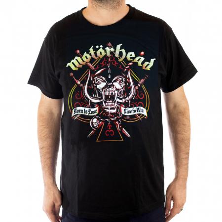 Tricou Motorhead - Live to Win - Fruit Of The Loom [0]