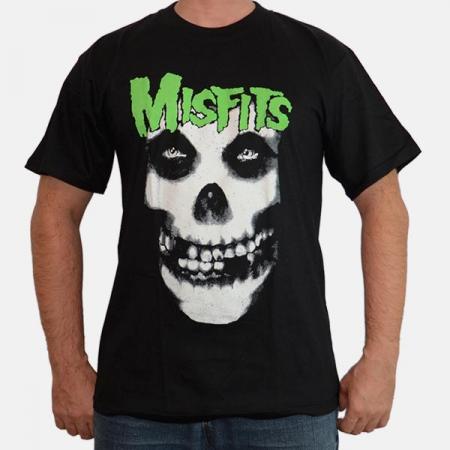 Tricou Misfits - Green - 180 grame0