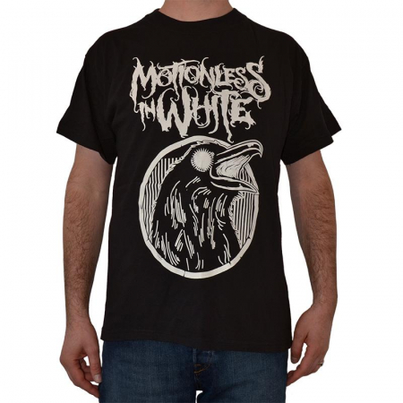 Tricou Motionless In White - Crow - 180 grame0