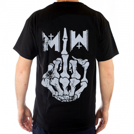 Tricou Motionless In White - Finger marime - 180 grame1