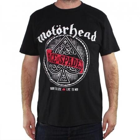 Tricou Motorhead - Ace Of Spades - 180 grame0