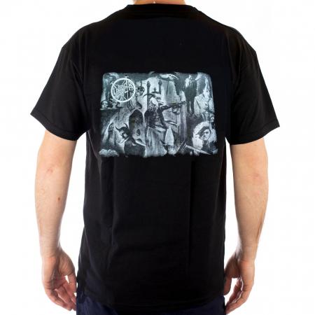 Tricou Slayer - Head Inferno - Fruit Of The Loom [1]