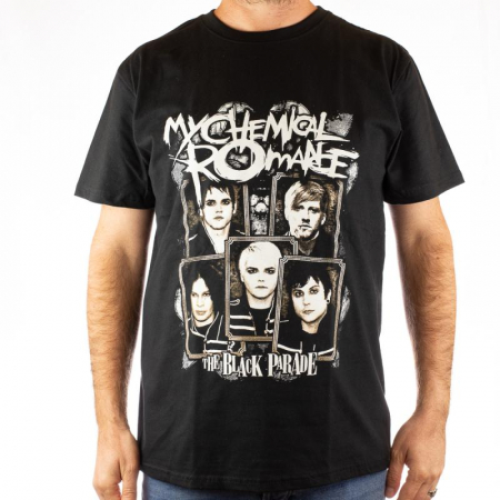 Tricou My Chemical Romance - The Black Parade marime - 180 grame0