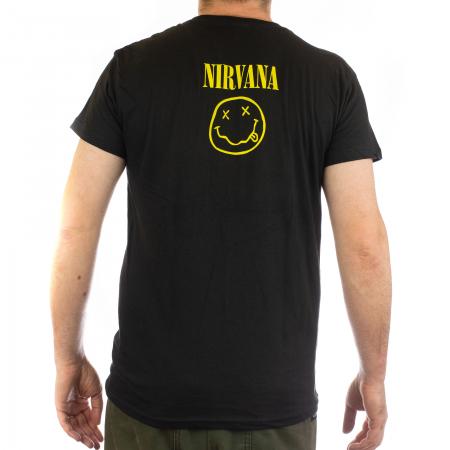 Tricou Nirvana - Smiley 145 grame1