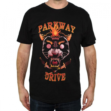 Tricou Parkway Drive - Panther - 145 grame0