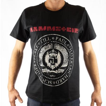 Tricou Rammstein - Band Stamp marime - 180 grame [0]