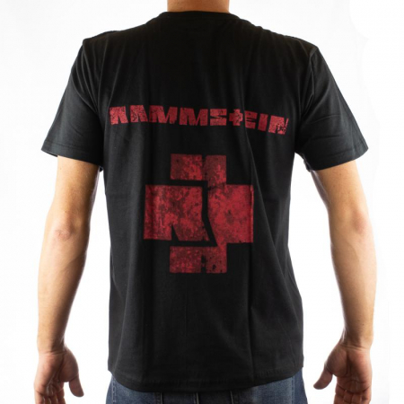Tricou Rammstein - Band Stamp marime - 180 grame [1]