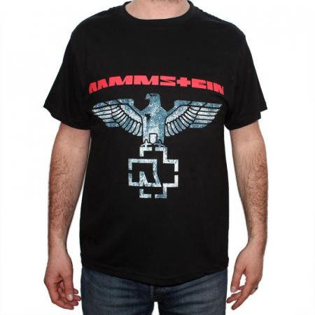 Tricou Rammstein Eagle New - 180 grame0