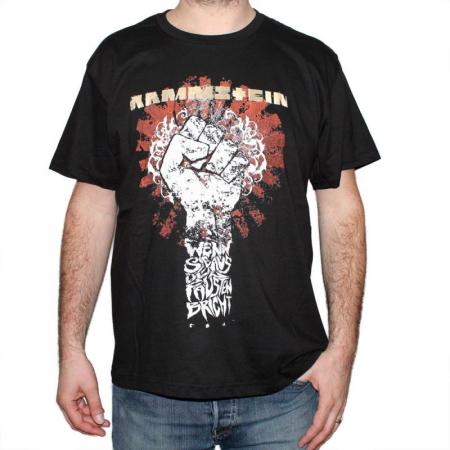 Tricou Rammstein - Fist - 180 grame0