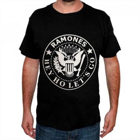 Tricou Ramones - Logo - 145 grame0