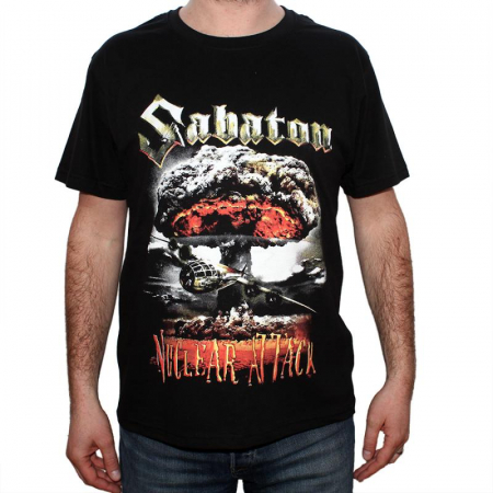 Tricou Sabaton - Nuclear Attack - 180 grame0