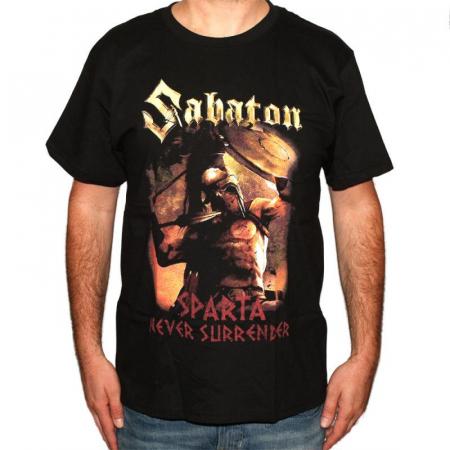 Tricou Sabaton-Sparta - 180 grame0