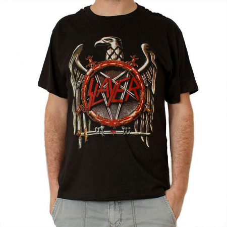 Tricou Slayer - Eagle 09688 - 145 grame0