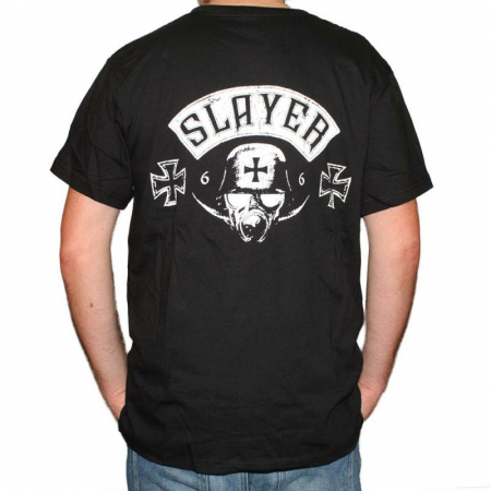 Tricou Slayer Los Angeles - 180 grame1