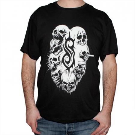 Tricou Slipknot - White Logo - 145 grame [0]