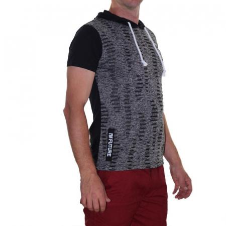 Tricou Streetwear 5M-2141 NEGRU1