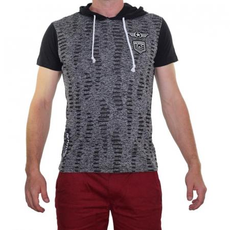 Tricou Streetwear 5M-2141 NEGRU0