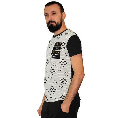 Tricou Streetwear 5M-2167 NEGRU1