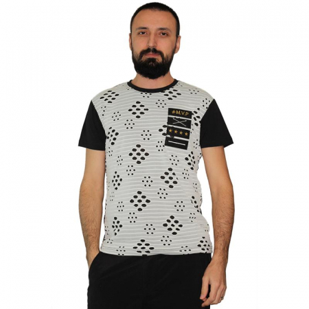 Tricou Streetwear 5M-2167 NEGRU0