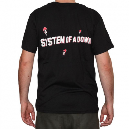 Tricou System of a Down - Mushrooms - 180 grame1