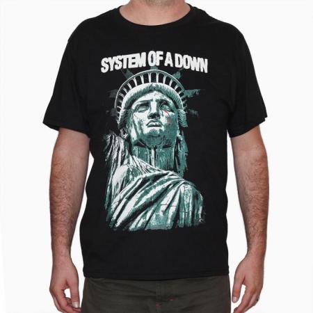 Tricou System Of Down - Sad Statue - 180 grame0