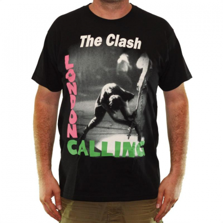 Tricou The Clash - London Calling - Fruit Of The Loom2