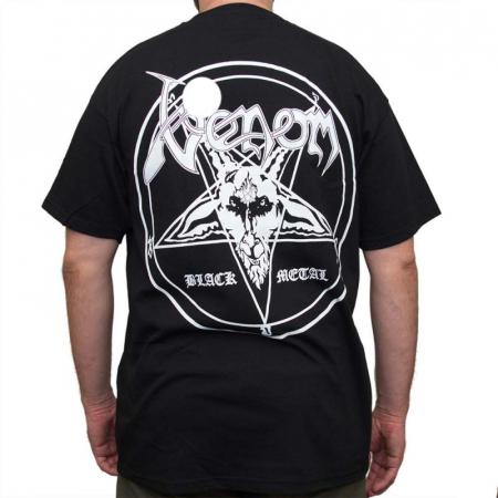 Tricou Venom - Black Metal - Fruit Of The Loom1