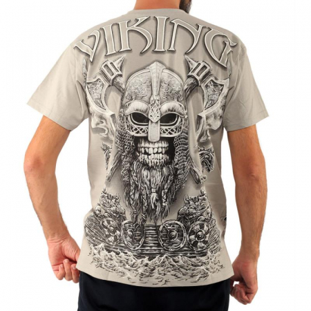 Tricou viking full printed - Berserk1