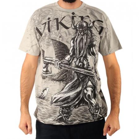 Tricou viking full printed - Valhalla0