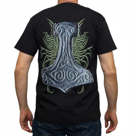 Tricou Viking - Helm & Axe - Fruit Of The Loom1
