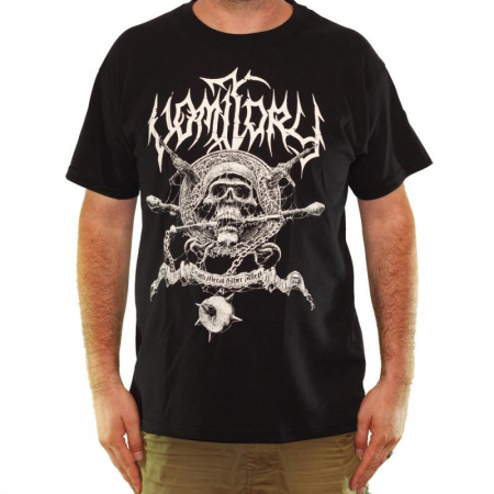 Tricou VOMITORY - Death Metal Uber Alles - Fruit Of The Loom0