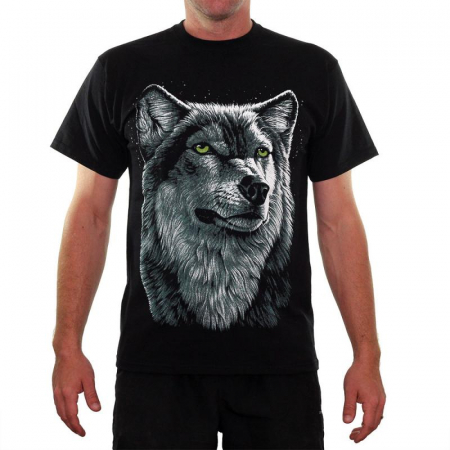 Tricou Wolf - Fruit Of The Loom2